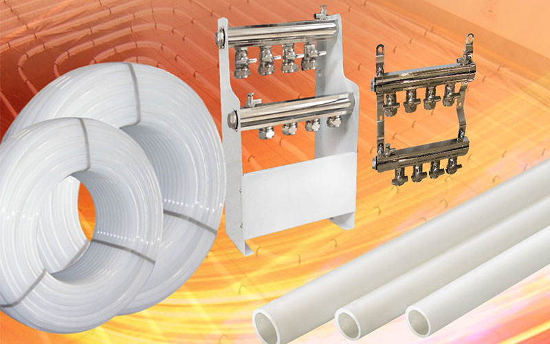 PE-RT PIPES FOR FLOOR HEATING