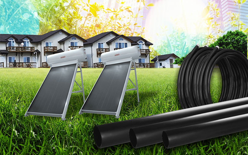PE-RTⅡ PIPE FOR SOLAR ENERGY