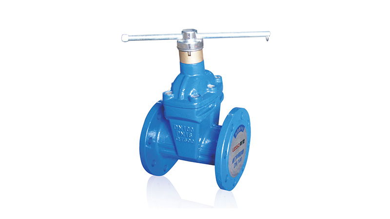 Lesso Security Flanged Resilient-seated Gate Valve (Magnetic-lock Type)
