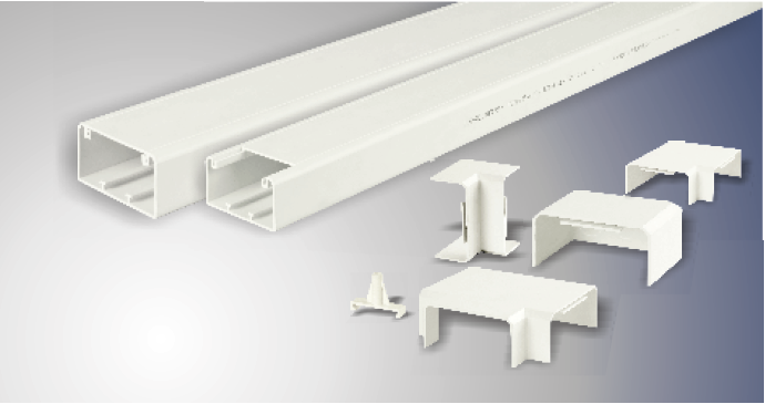 PVC MULTIFUNCTIONAL TRUNKING AND FITTINGS