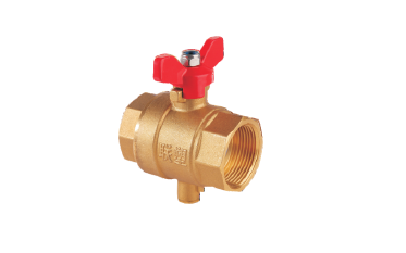 Lesso Temperature Measurement Ball Valve