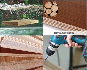 Solid Wood Multilayer Structure, 5 times longer of Lengthening Service Life