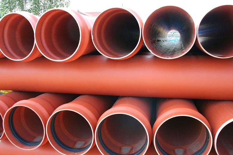 PVC pipes Usage
