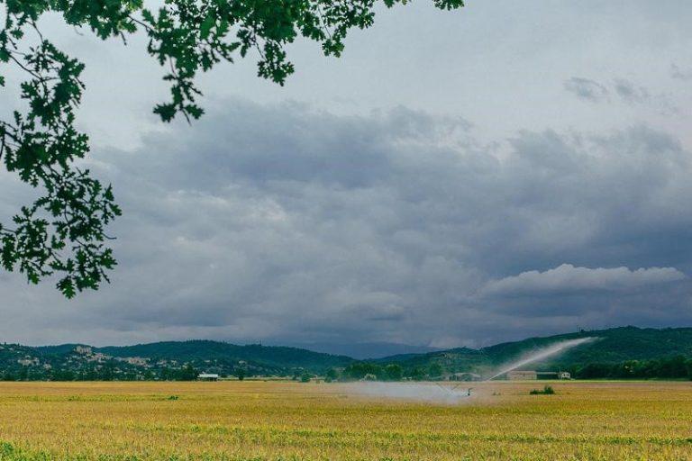 Smart Line Irrigation System