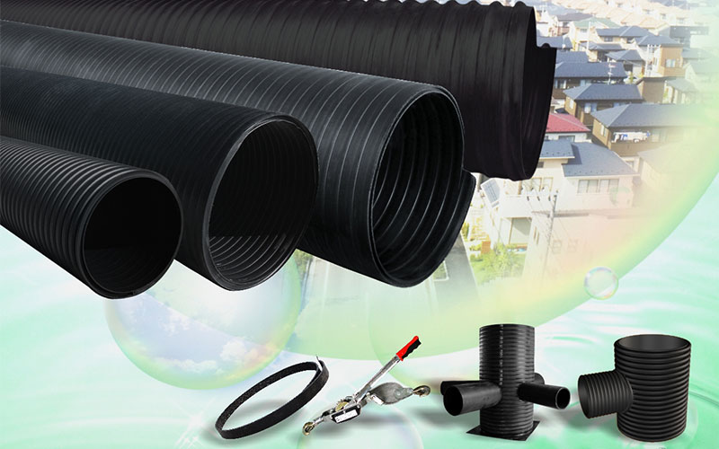Lesso HDPE Double-Wall Corrugated Pipe and Fittings
