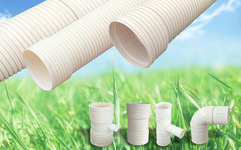 Lesso PVC-U Double Wall Corrugated Pipe
