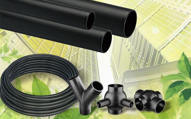 HDPE Same-Floor Drain System