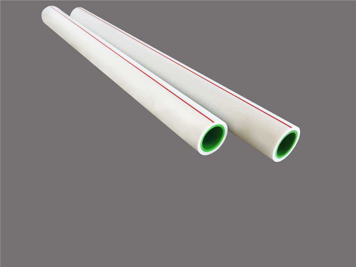 Bicolor PP-R Water Pipe for Home Decoration