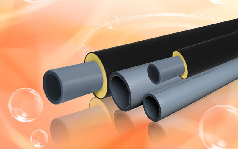 PE-RTII Pipe for Central-Heating Supply Network