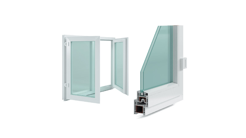 60mm Casement Windows Series