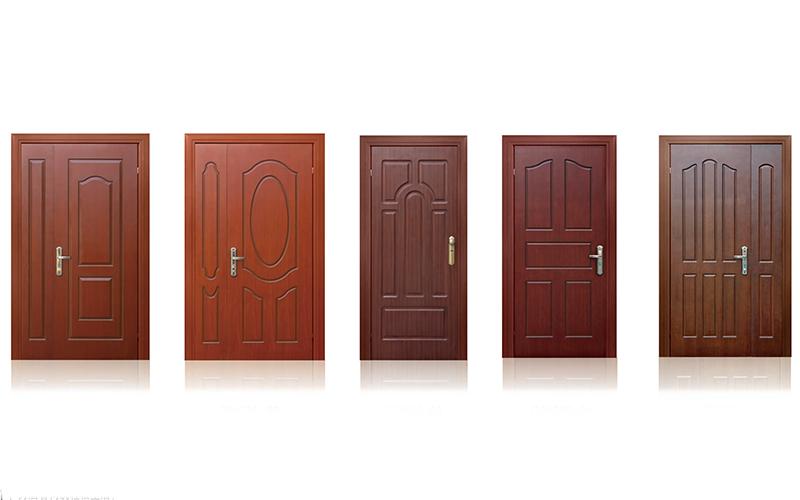 Wooden Fire-rated Door with Steel 0