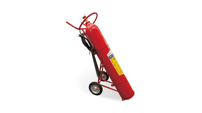 Lesso Wheeled CO2 Fire Extinguisher
