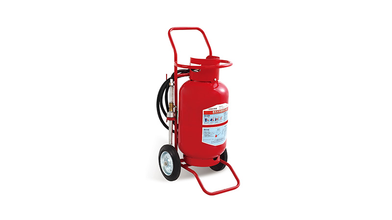 Lesso Wheeled Water Mist Fire Extinguisher