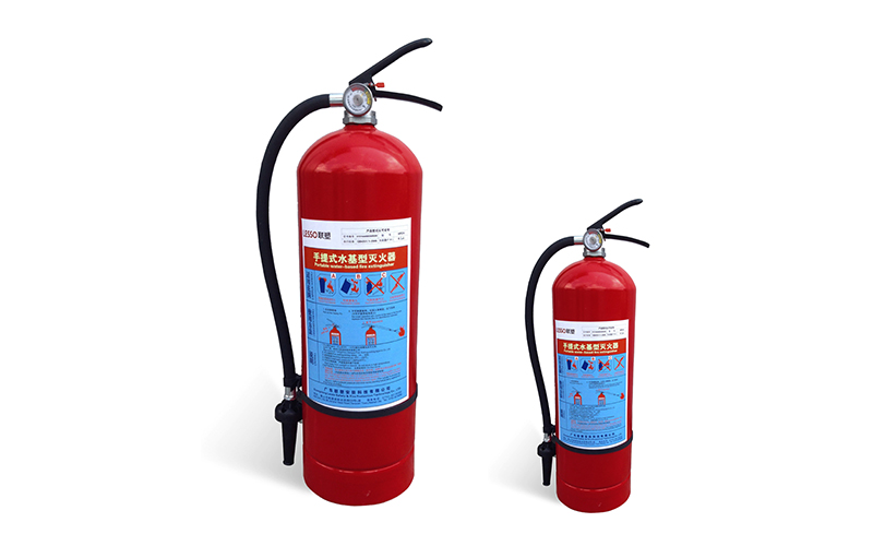 Lesso Portable Water Mist Fire Extinguisher