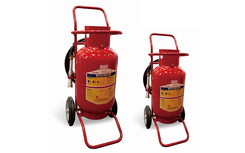 Lesso Wheeled Dry Powder Fire Extinguisher