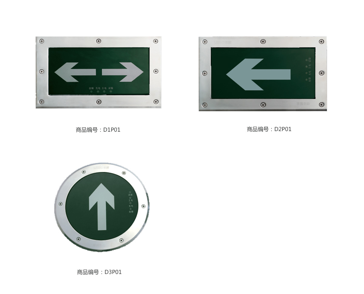 Lesso Buried Fire Emergency Lighting Luminaire