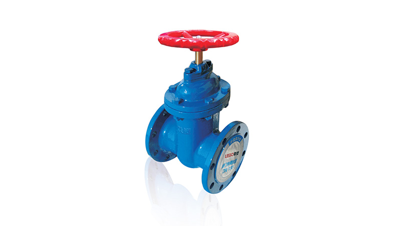 Flanged Hard Sealing Gate Valve (Non-rising Stem)