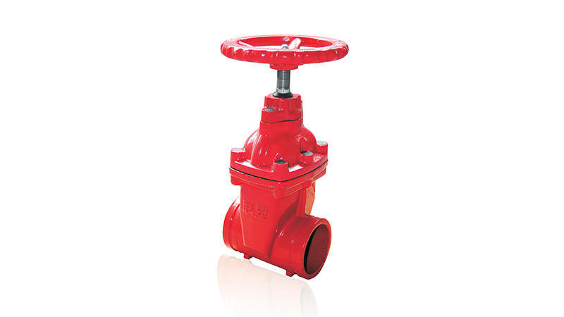 Lesso Groove Resilient-seated Gate Valve(Non-rising Stem )
