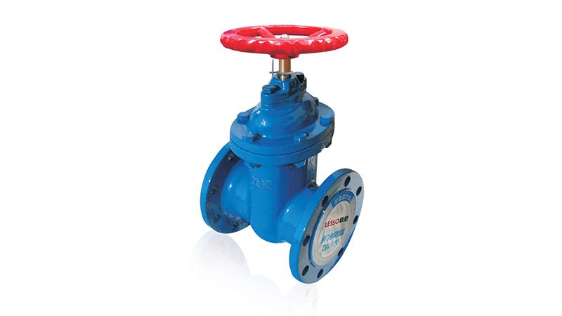 Flanged Hard Sealing Gate Valve with Gatage(Non-rising Stem)