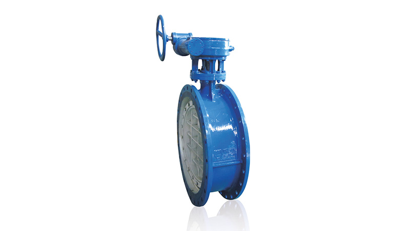 Lesso Flanged Worm Gear Butterfly Valve