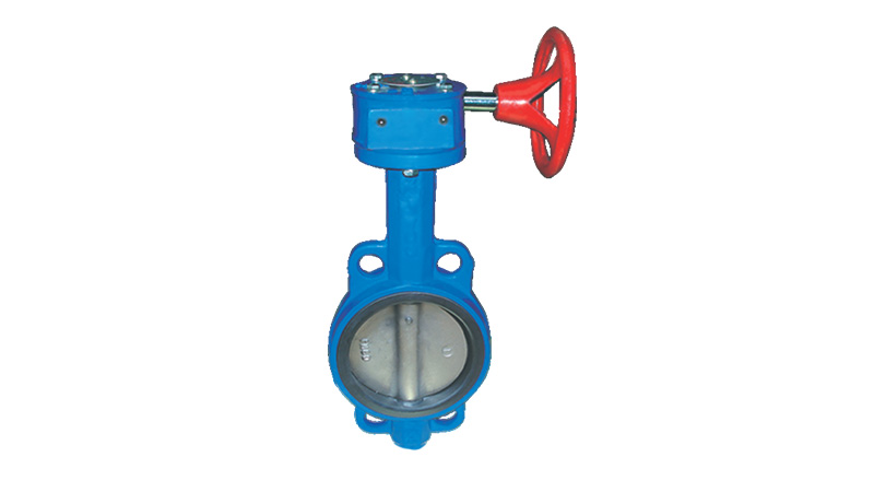 Lesso Wafer-type Butterfly Valve( Worm Gear )