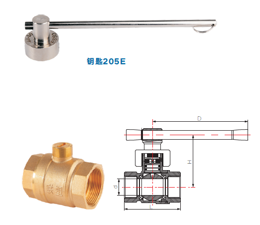 Lesso Magnetic Lock Ball Valve