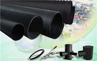 HDPE Double-Wall Corrugated Pipe and Fittings 0