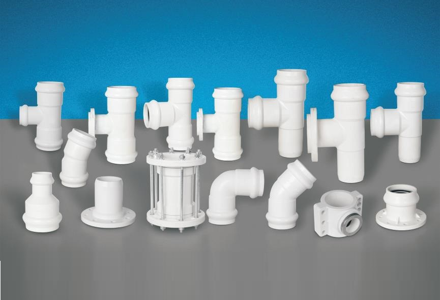 Lesso PVC-U Gasketed Fittings