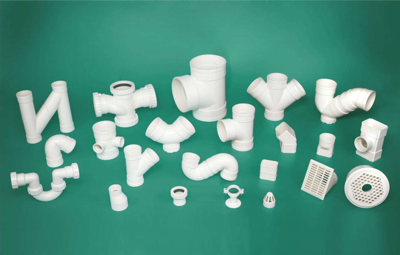 Lesso PVC-U Drainage Pipe Fittings