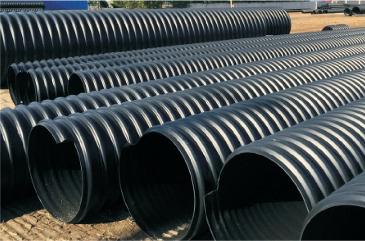 Lesso Metal Reinforced PE Spiral Corrugated Pipe and Accessories