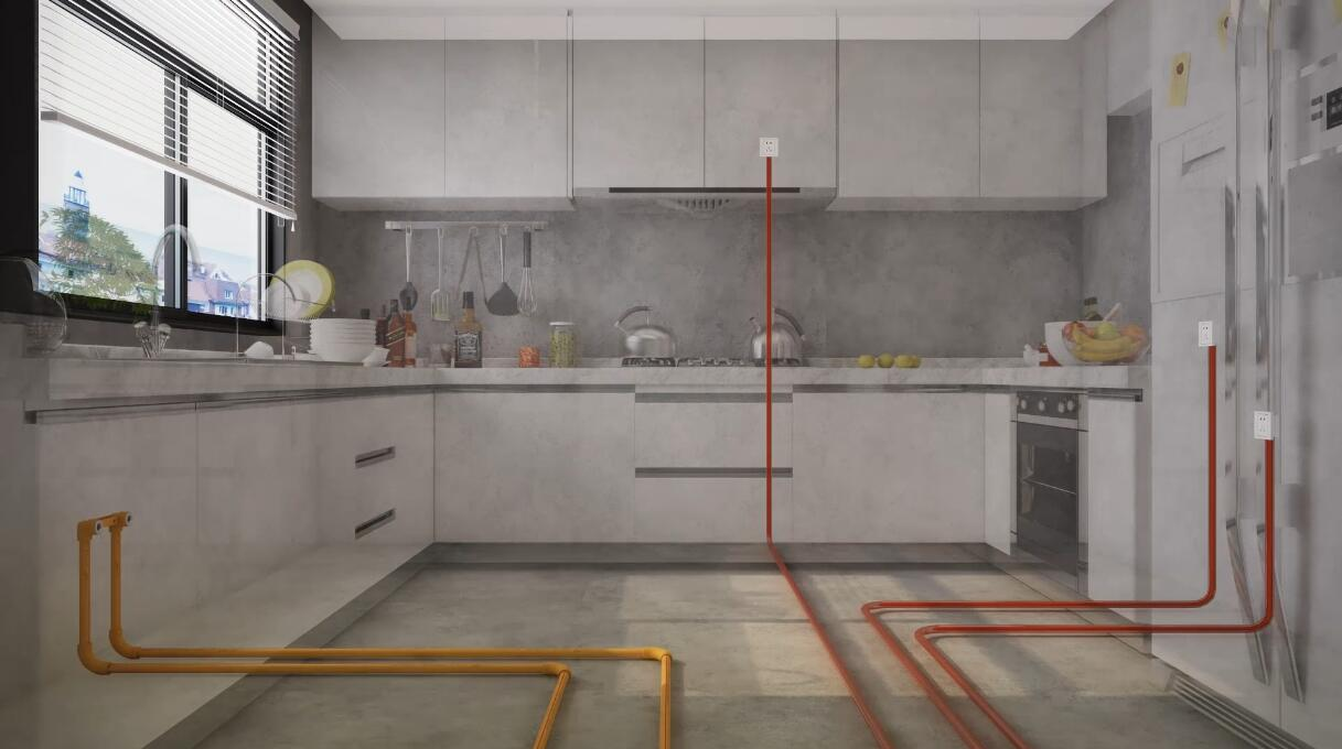 Lesso Piping Systems for Home Decoration