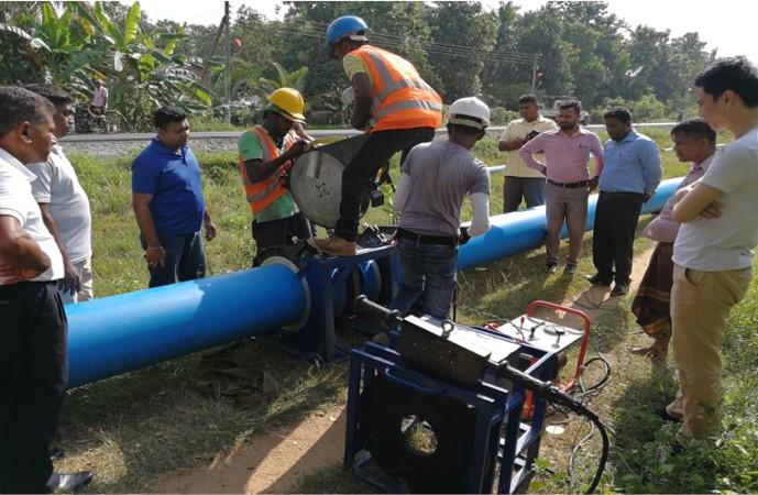 联塑Polonnaruwa Water Supply Scheme