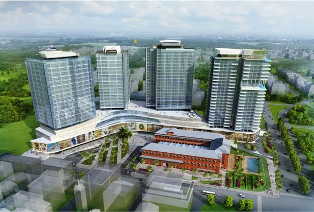 Lesso Yangon City Center Building Project