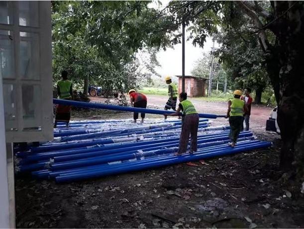 联塑United Nations Assistance to Water supply Project in Yangon