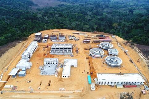 联塑CABINDA Water Supply Project