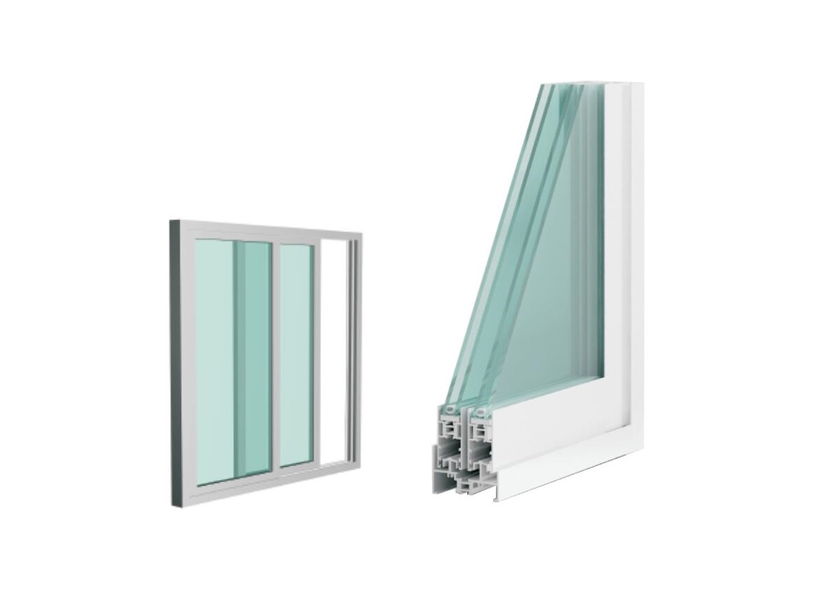 Sliding Windows/80mm Thermal-break Insulated Series 1