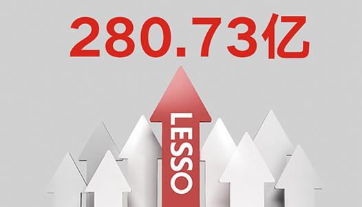 Lesso The group's revenue has reached RMB 26.345 billion.