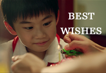 Lesso Grow together with you, Guarding wishes for each of you